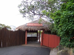Hut Sydney Taronga Zoo 1
